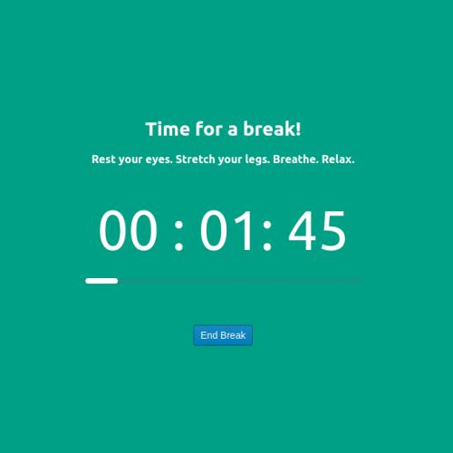 Google Chrome Break Timer