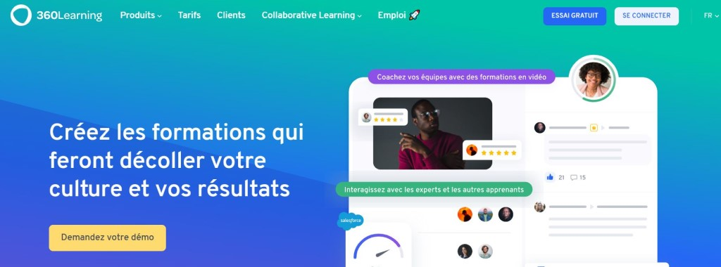360learning homepage