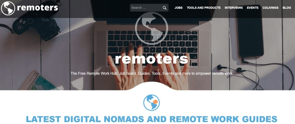 remoters homepage