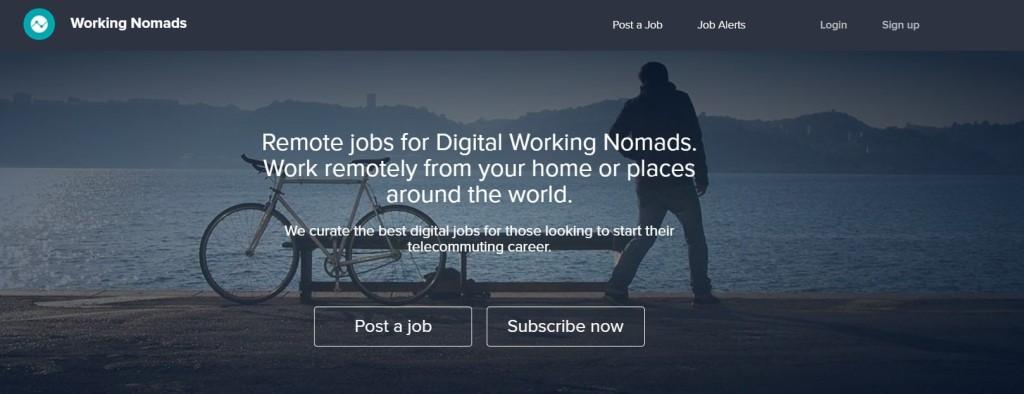 working nomads post job