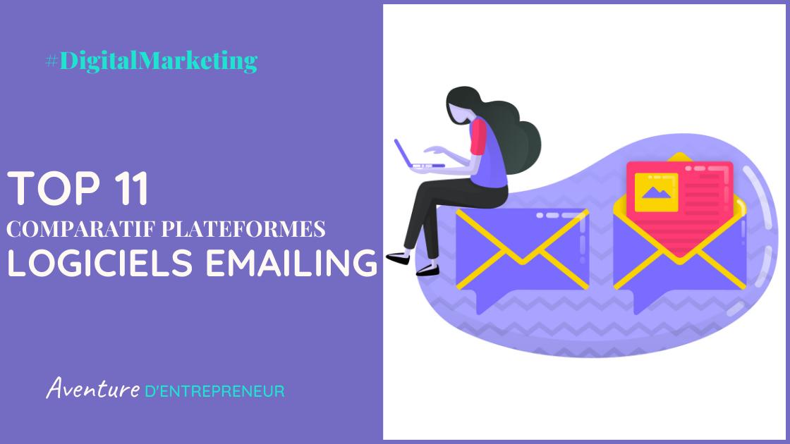 comparatif logiciel emailing plateforme