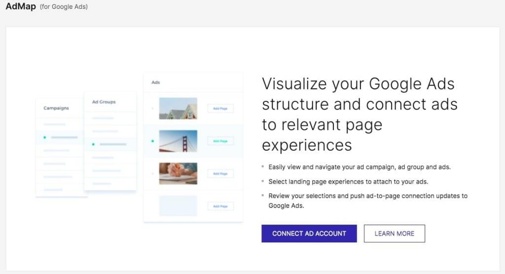 avis instapage ad map google