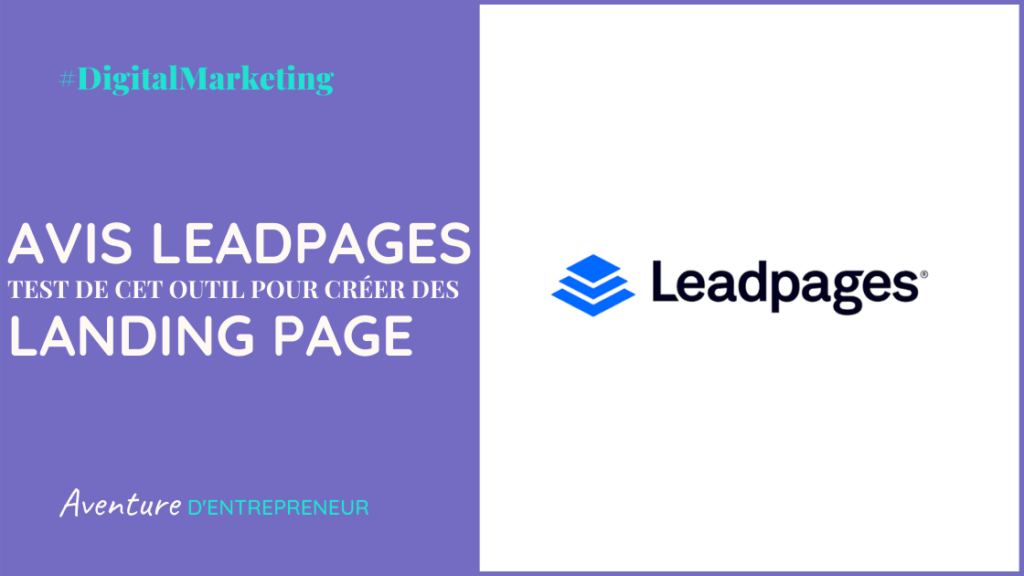 avis test leadpage outil creation landing page