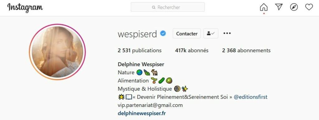 utilisation emoji bio instagram