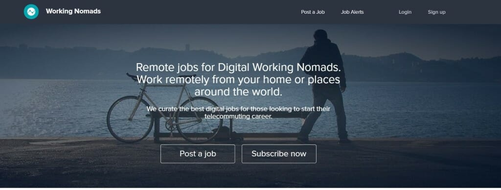 working nomads full remote travailler
