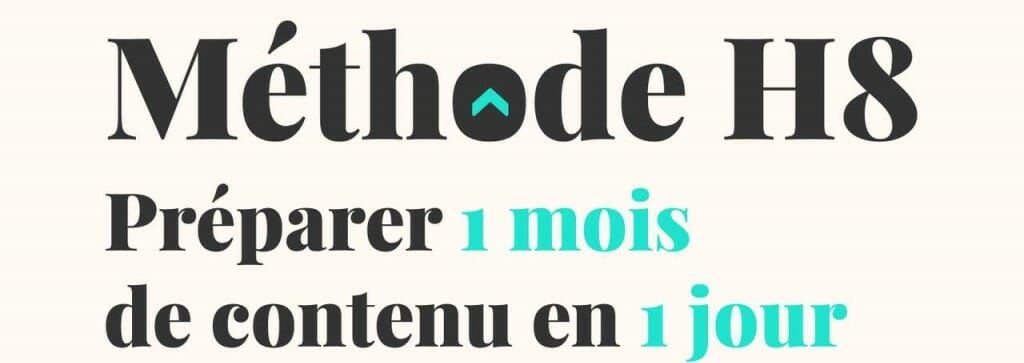 calendrier editorial reseaux sociaux methode h8