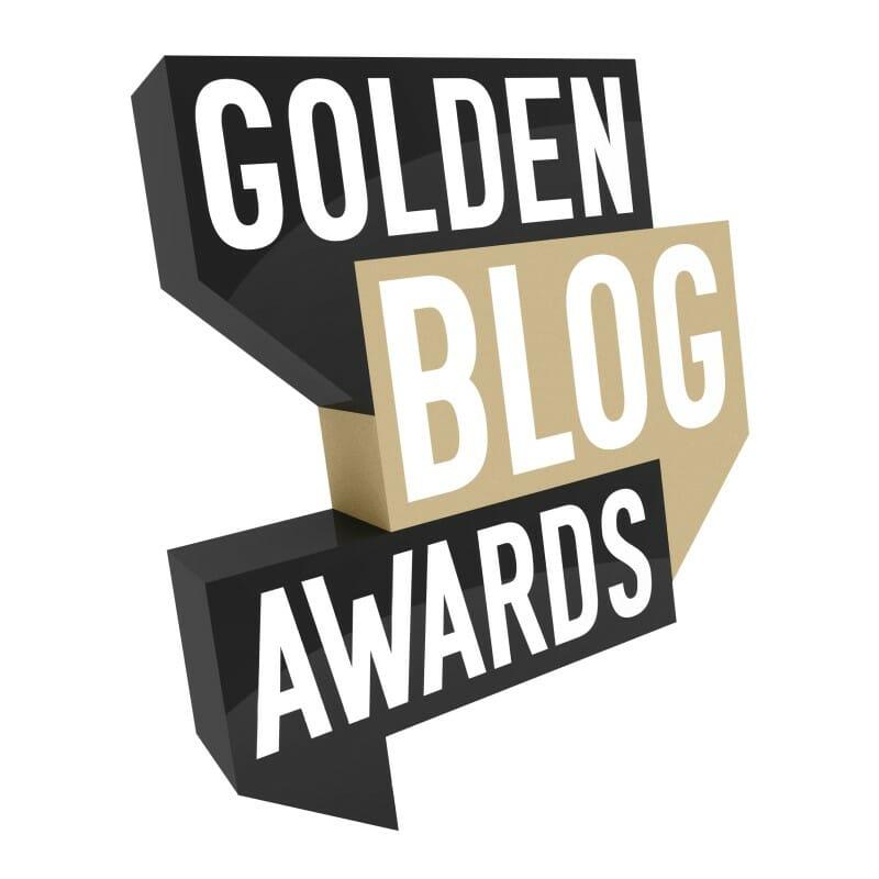 golden blog awards logo