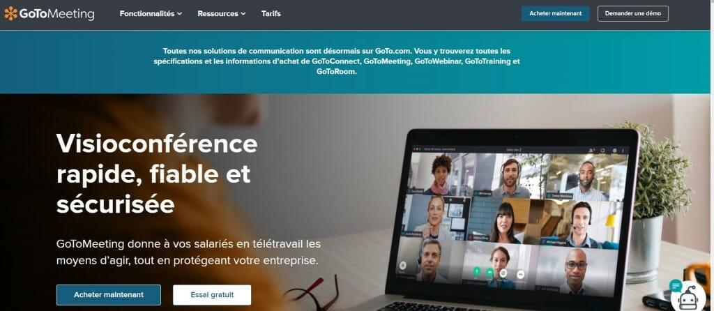 goto webinar homepage